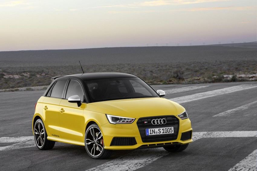 Audi S1 unveiled – an A1 with all-wheel drive, 231 PS Image #228029