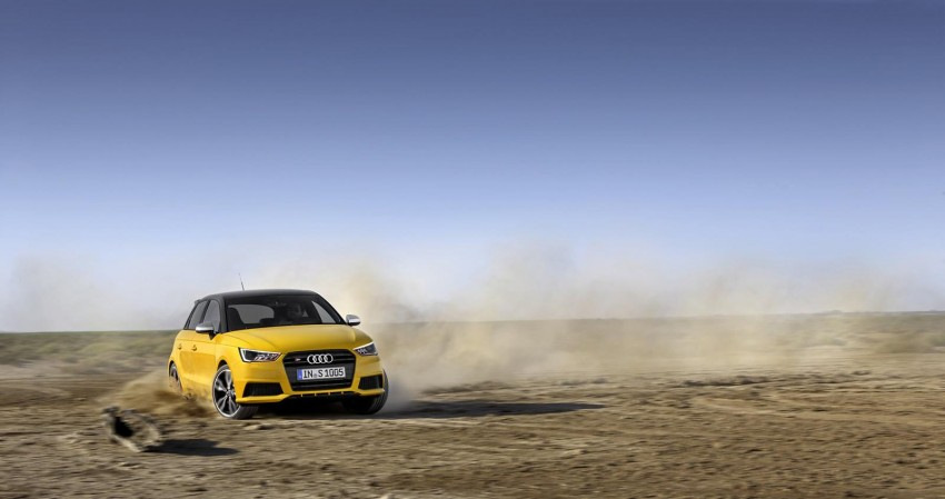 Audi S1 unveiled – an A1 with all-wheel drive, 231 PS Image #228033