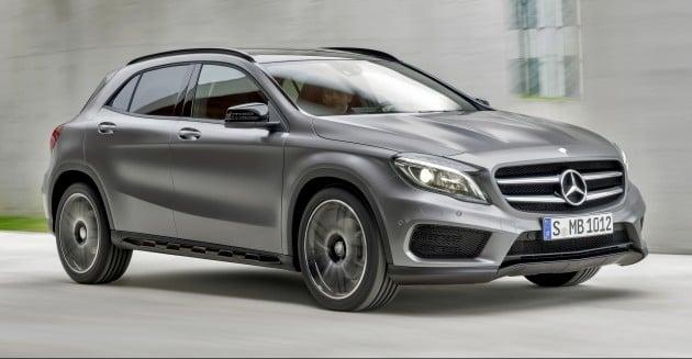 Mercedes-Benz GLA 250 4MATIC (X156) 2013