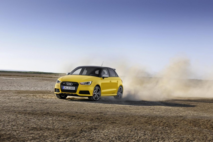 Audi S1 unveiled – an A1 with all-wheel drive, 231 PS Image #228036