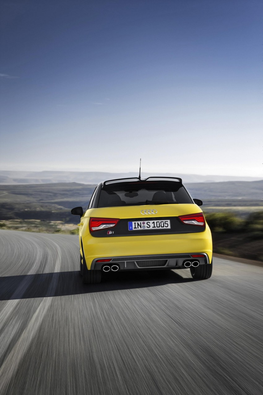 Audi S1 unveiled – an A1 with all-wheel drive, 231 PS Image #228038