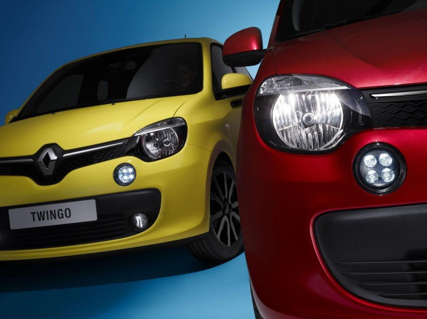 New Renault Twingo – rear-engined city car revival Image #228477