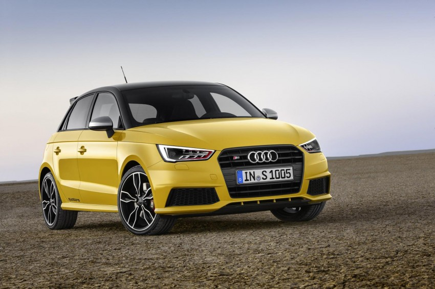 Audi S1 unveiled – an A1 with all-wheel drive, 231 PS Image #228024