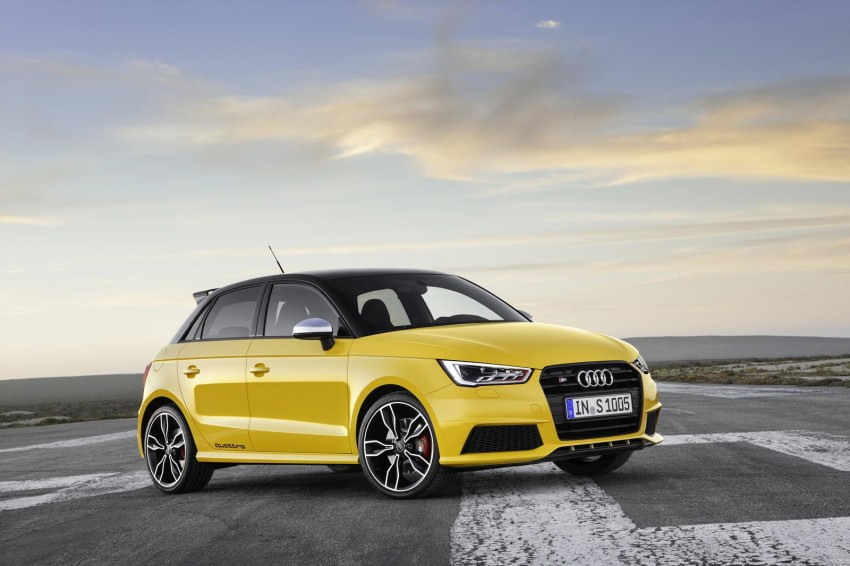 Audi S1 unveiled – an A1 with all-wheel drive, 231 PS Image #228027