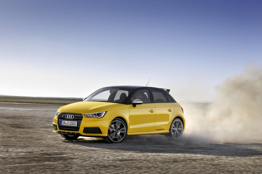 Audi S1 unveiled – an A1 with all-wheel drive, 231 PS Image #228035