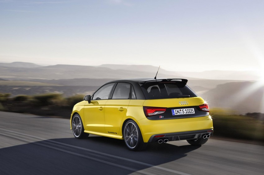 Audi S1 unveiled – an A1 with all-wheel drive, 231 PS Image #228037