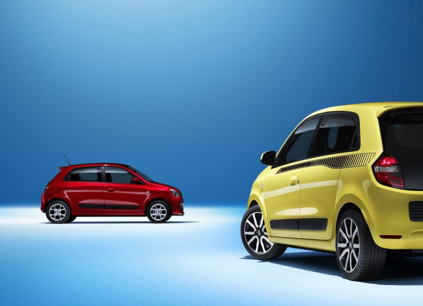 New Renault Twingo – rear-engined city car revival Image #228474