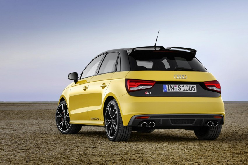 Audi S1 unveiled – an A1 with all-wheel drive, 231 PS Image #228025