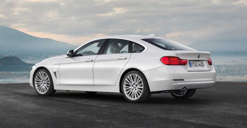 Bmw 4 Series Gran Coupe Debuts A Four Door 4 Er Paul Tan