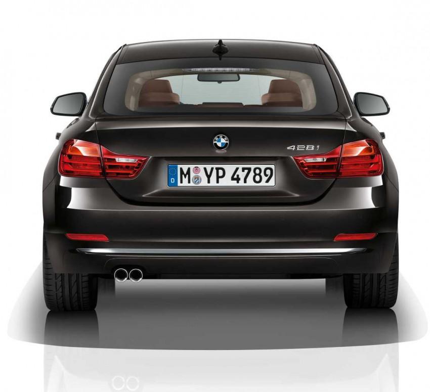 BMW 4-Series Gran Coupe debuts – a four door 4-er Image 225550