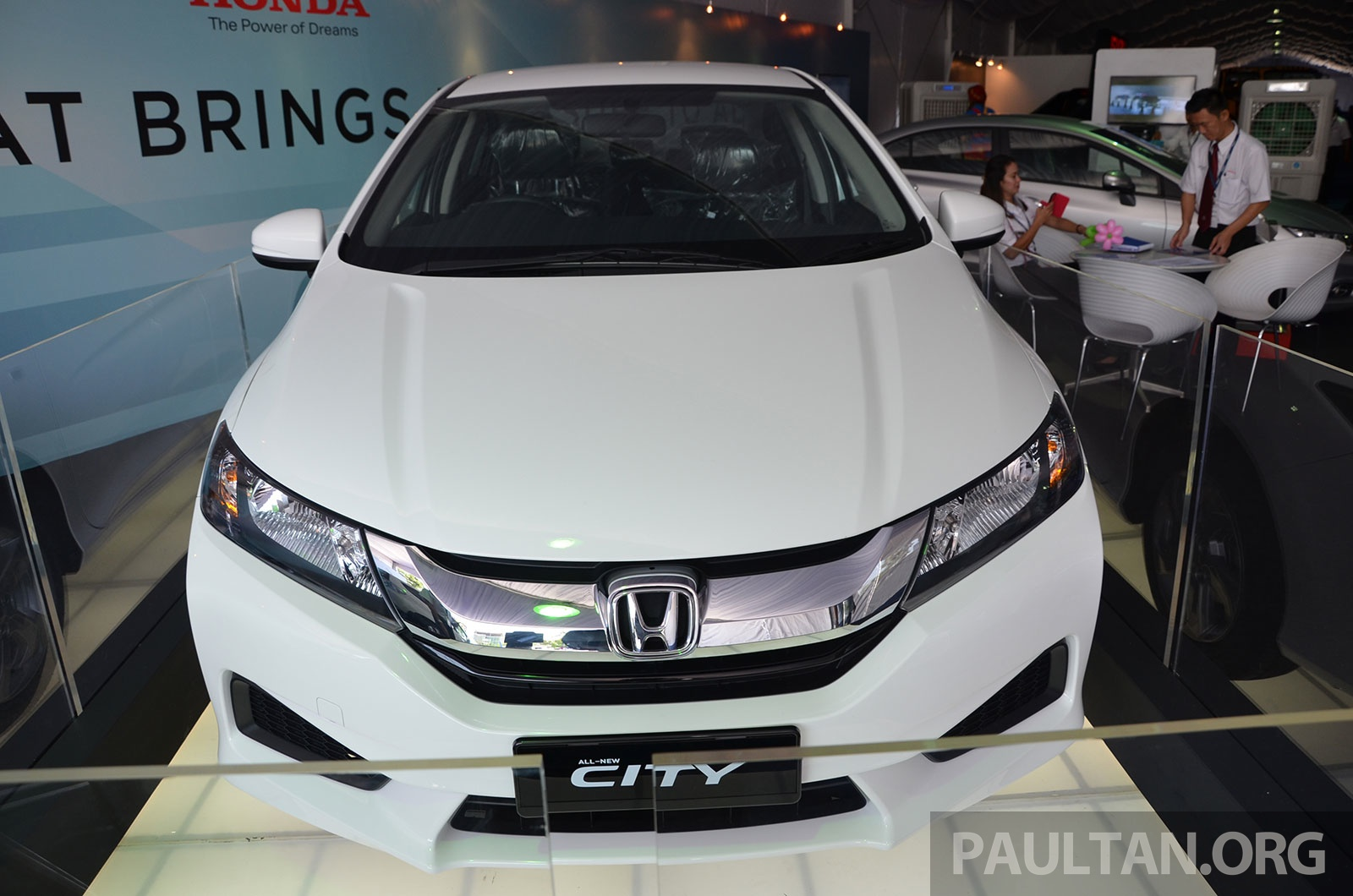 2014 Honda City White Grade S Car At DRB Autofest Image 231257