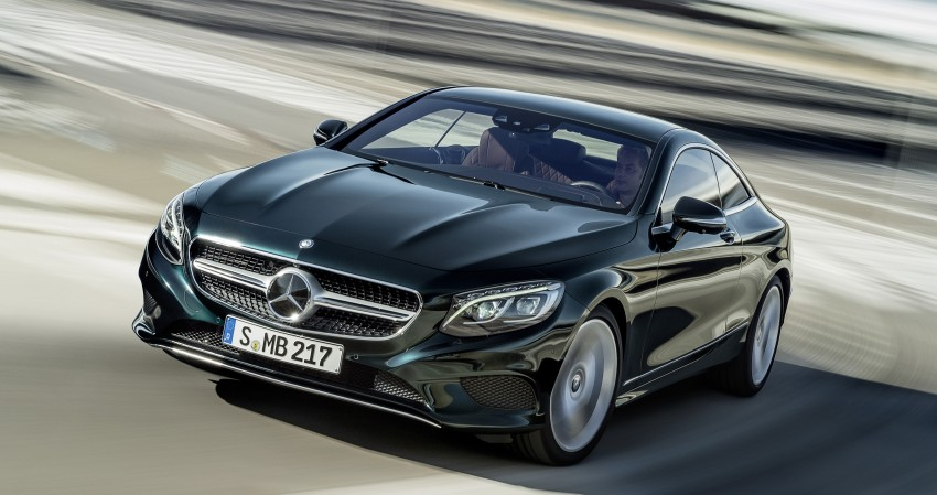 Mercedes-Benz S-Class Coupe – crystal clear details Image #227785