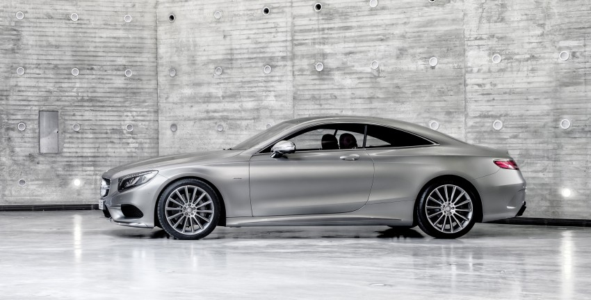Mercedes-Benz S-Class Coupe – crystal clear details Image #227790