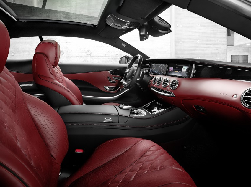 Mercedes-Benz S-Class Coupe – crystal clear details Image #227791