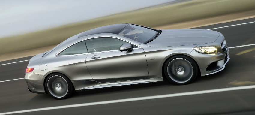 Mercedes-Benz S-Class Coupe – crystal clear details Image #227794