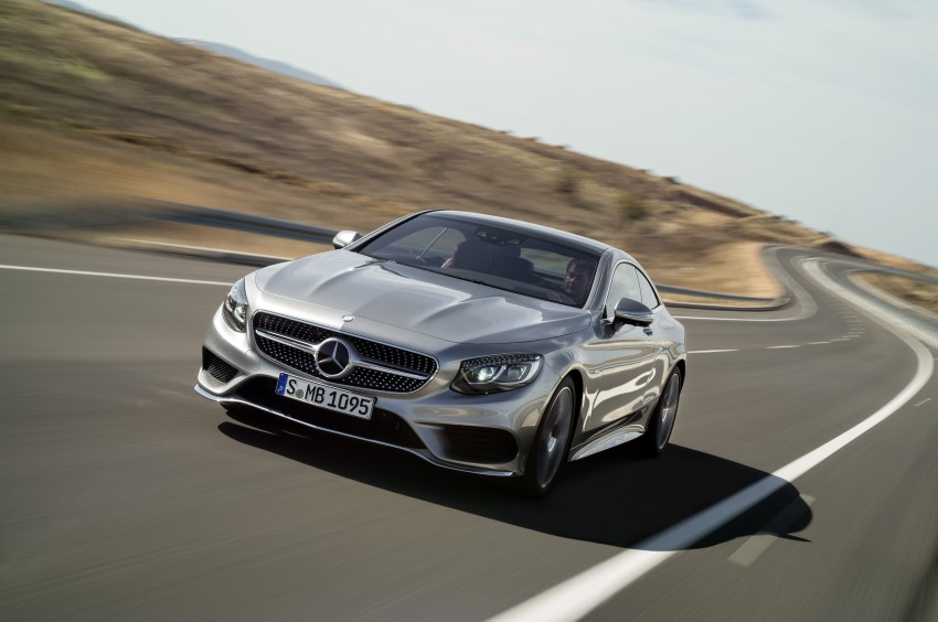 Mercedes-Benz S-Class Coupe – crystal clear details Image #227795