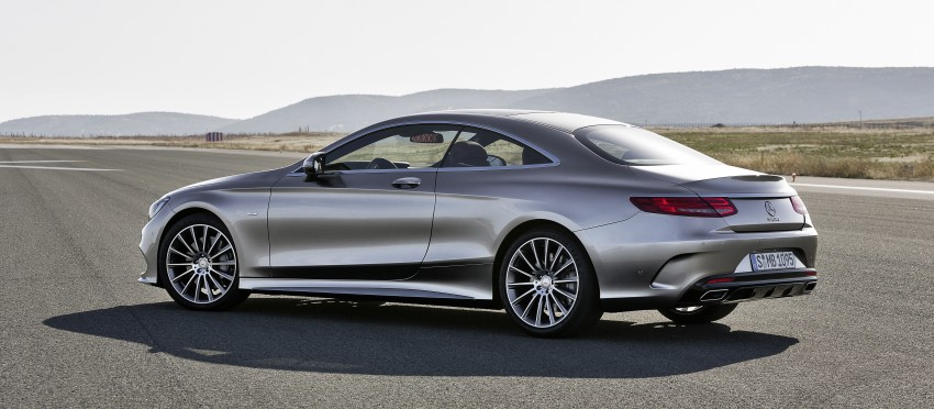 Mercedes-Benz S-Class Coupe – crystal clear details Image #227796