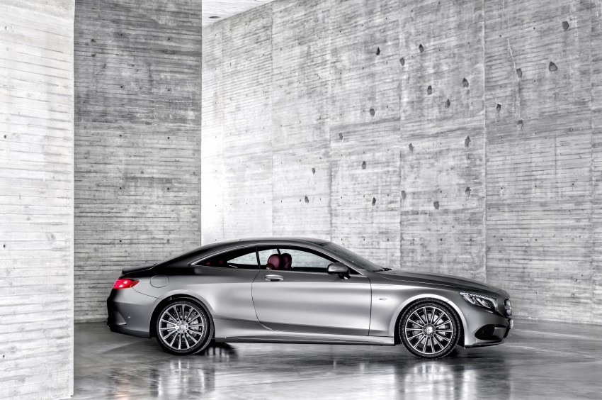 Mercedes-Benz S-Class Coupe – crystal clear details Image #227798
