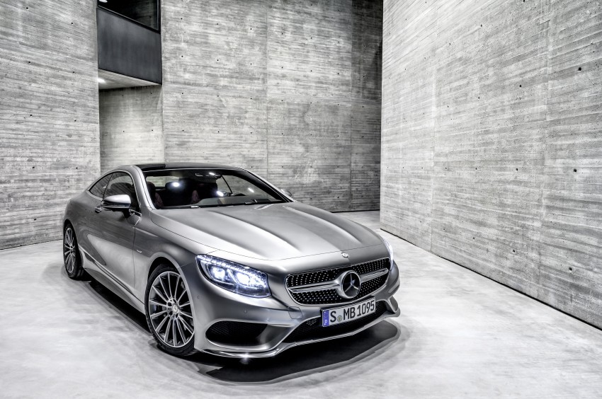Mercedes-Benz S-Class Coupe – crystal clear details Image #227801
