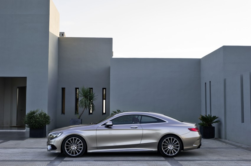 Mercedes-Benz S-Class Coupe – crystal clear details Image #227807