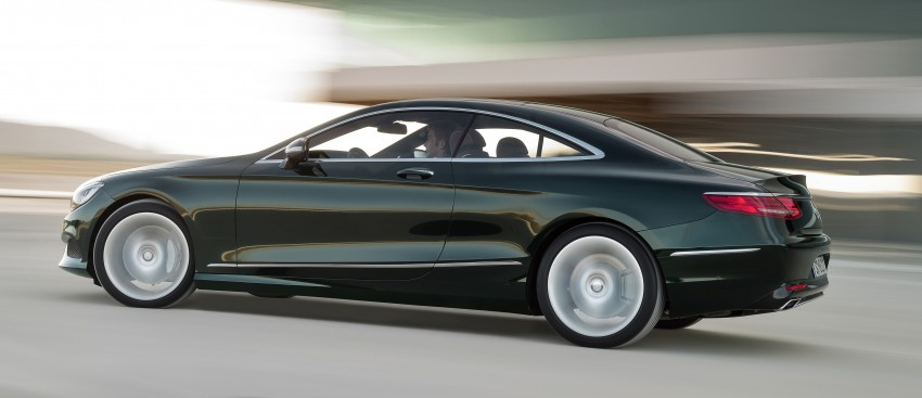 Mercedes-Benz S-Class Coupe – crystal clear details Image #227811