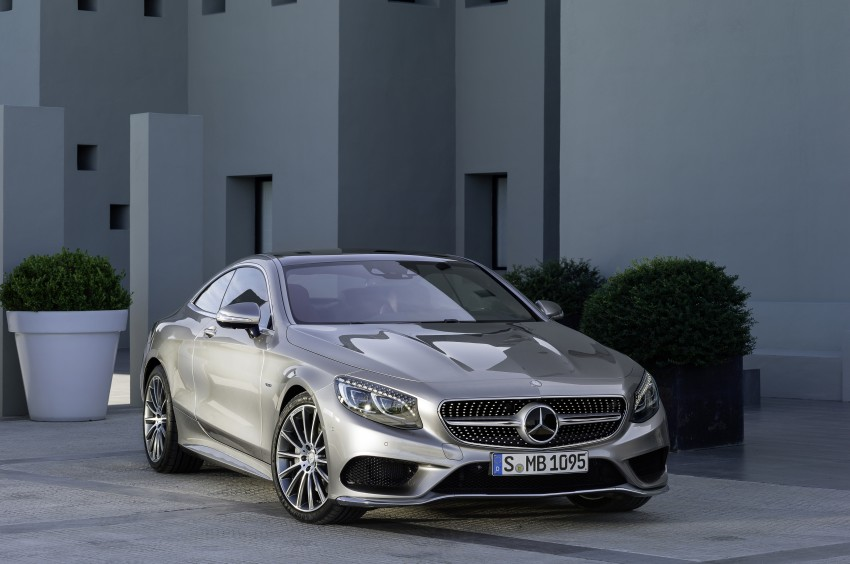 Mercedes-Benz S-Class Coupe – crystal clear details Image #227812