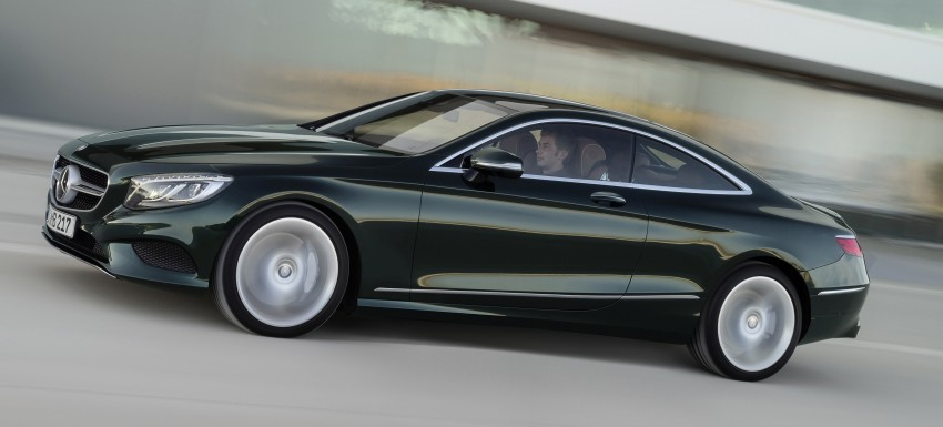 Mercedes-Benz S-Class Coupe – crystal clear details Image #227814