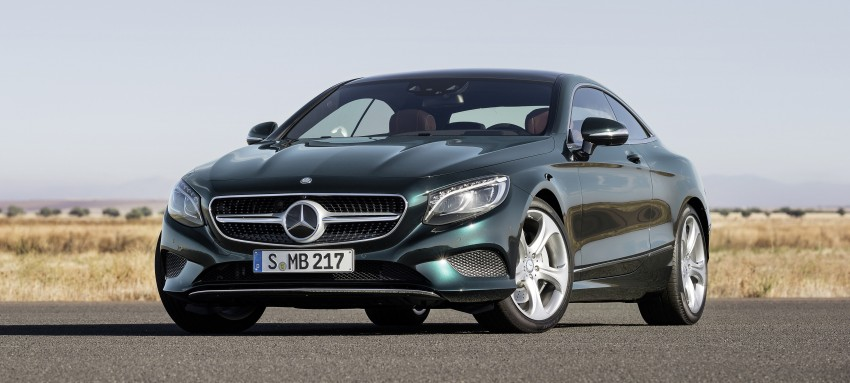 Mercedes-Benz S-Class Coupe – crystal clear details Image #227815