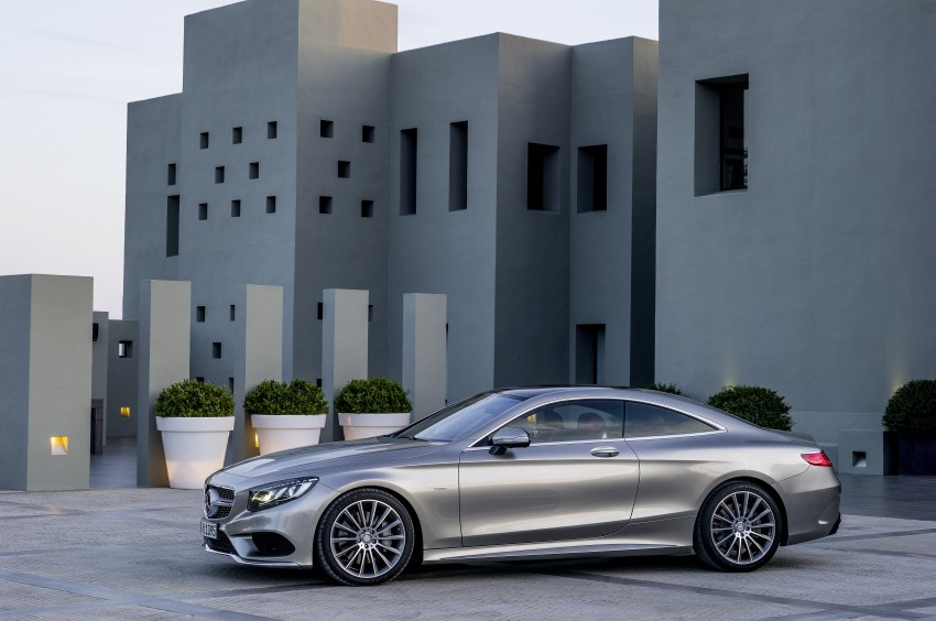 Mercedes-Benz S-Class Coupe – crystal clear details Image #227820