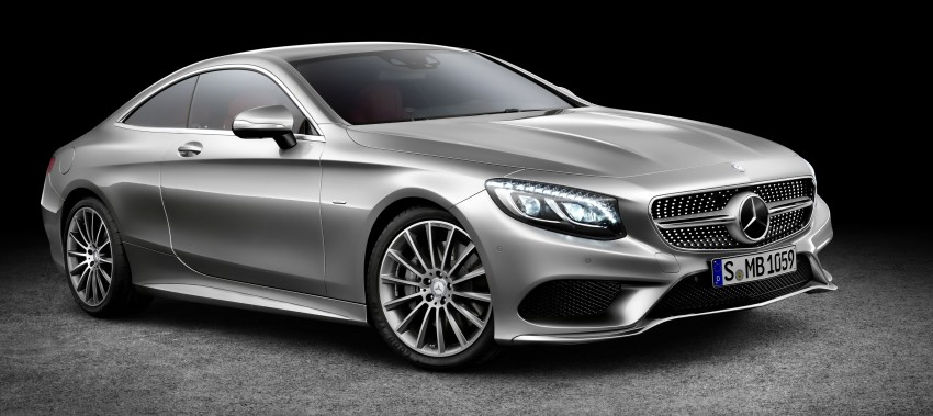 Mercedes-Benz S-Class Coupe – crystal clear details Image #227822