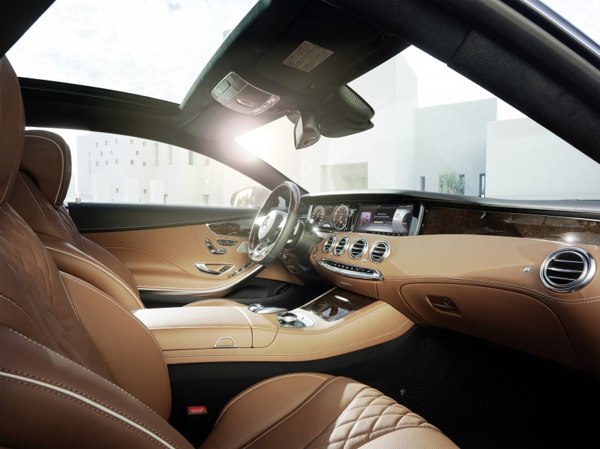 Mercedes-Benz S-Class Coupe – crystal clear details Image #227824