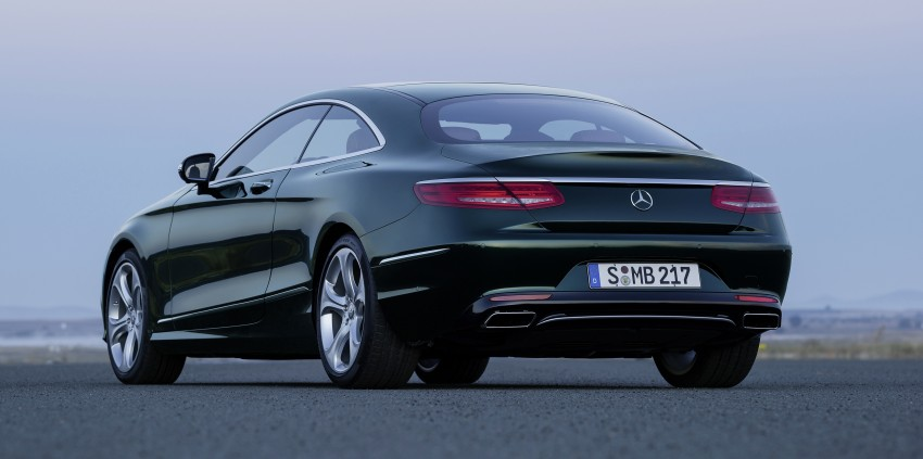 Mercedes-Benz S-Class Coupe – crystal clear details Image #227830