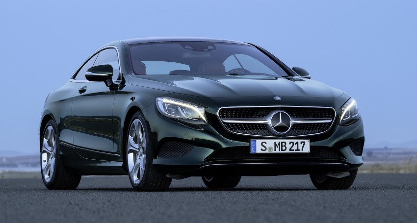 Mercedes-Benz S-Class Coupe – crystal clear details Image #227831