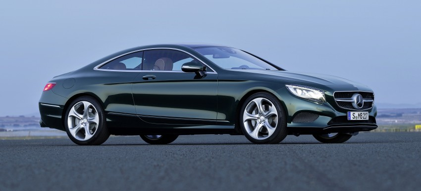 Mercedes-Benz S-Class Coupe – crystal clear details Image #227832