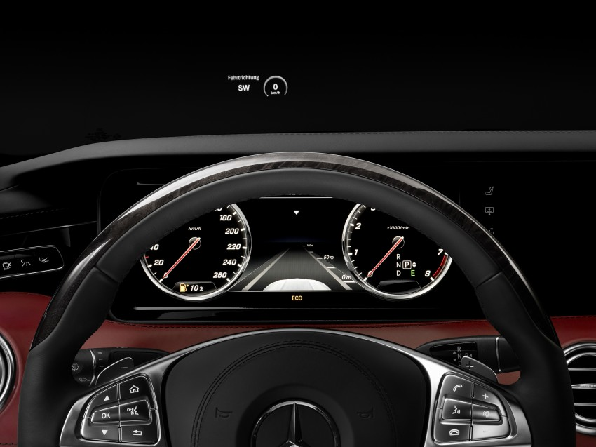 Mercedes-Benz S-Class Coupe – crystal clear details Image #227834