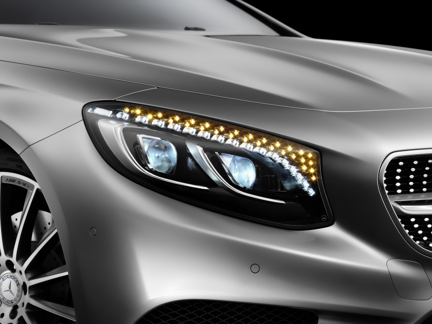 Mercedes-Benz S-Class Coupe – crystal clear details Image #227838