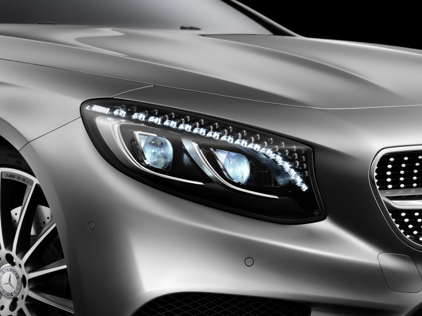 Mercedes-Benz S-Class Coupe – crystal clear details Image #227839