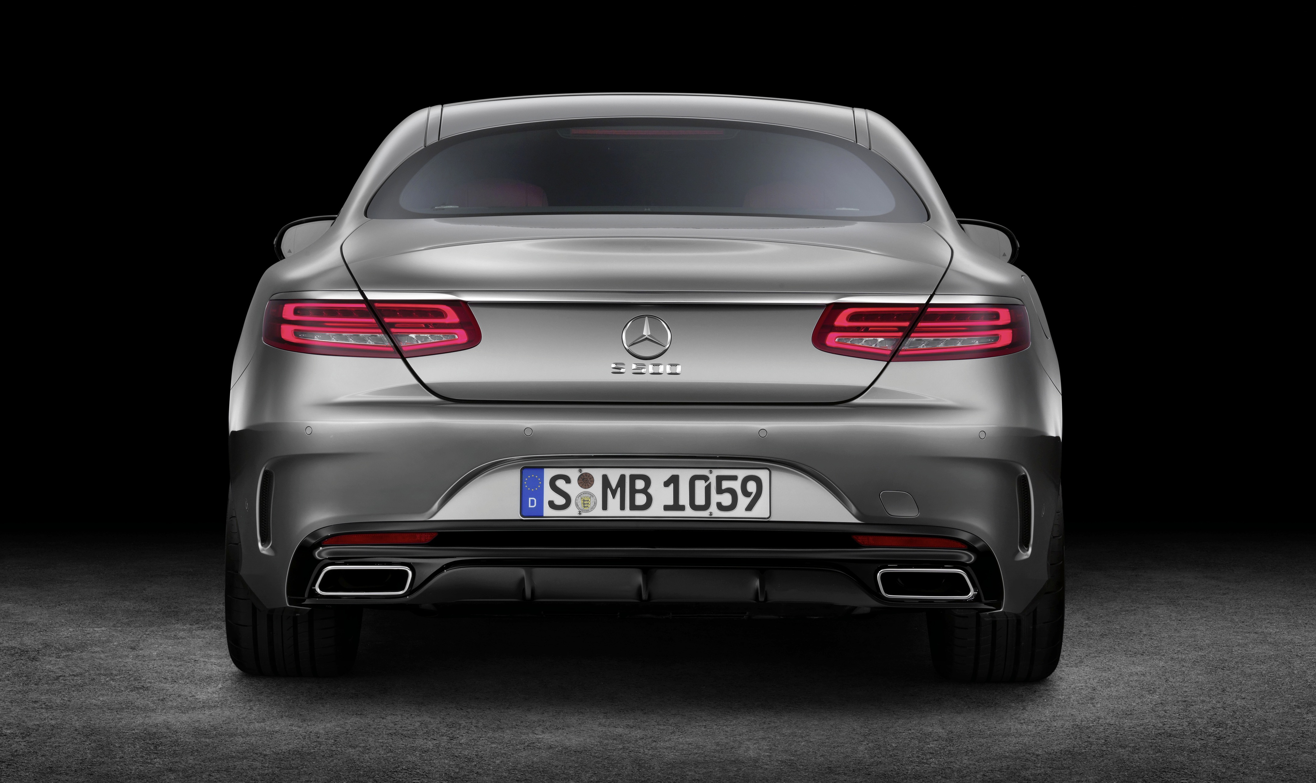 Mercedes Benz S Class Coupe Crystal Clear Details Image