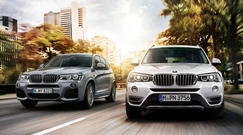 2014 BMW X3 M Sport LCI – first shot of kitted-up F25 Image #227154