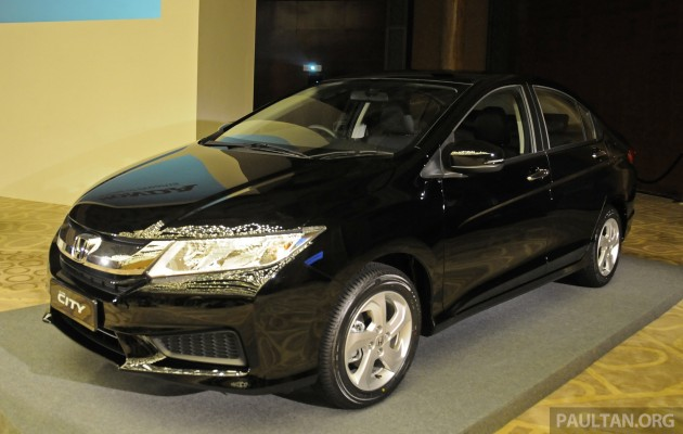 Honda Malaysia offered a preview of its upcoming new 2014 Honda City