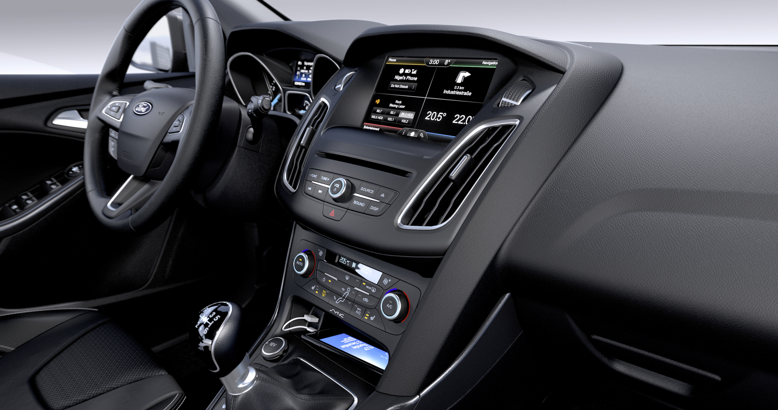 Charming 2014 Ford Focus Facelift Gets Revised Looks And Interior Image #230224 Nice Look