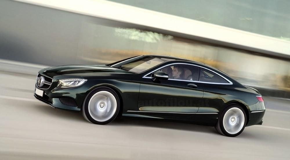 2015 mercedes benz s class coupe first official pic for 2015 mercedes benz s class s550