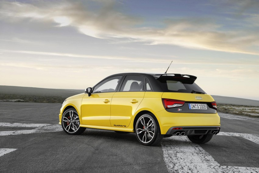 Audi S1 unveiled – an A1 with all-wheel drive, 231 PS Image #228030