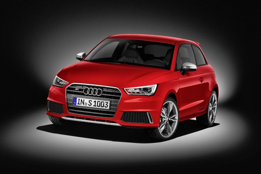 Audi S1 unveiled – an A1 with all-wheel drive, 231 PS Image #228017