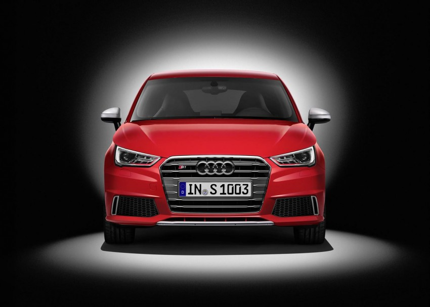 Audi S1 unveiled – an A1 with all-wheel drive, 231 PS Image #228019