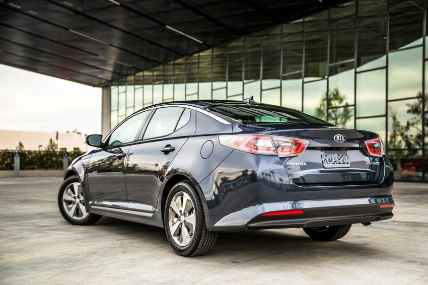 2014 Kia Optima Hybrid facelift unveiled in Chicago Image #227083