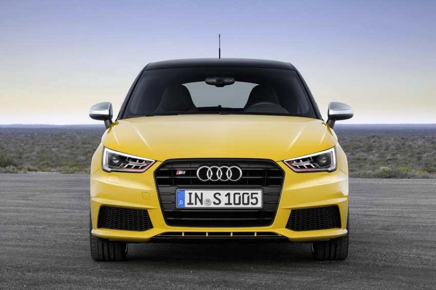 Audi S1 unveiled – an A1 with all-wheel drive, 231 PS Image #228031