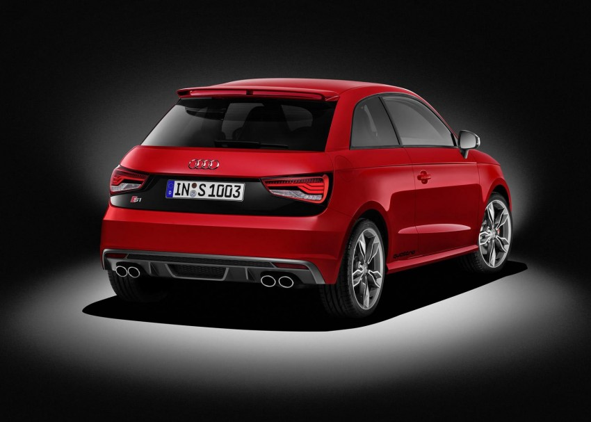 Audi S1 unveiled – an A1 with all-wheel drive, 231 PS Image #228018