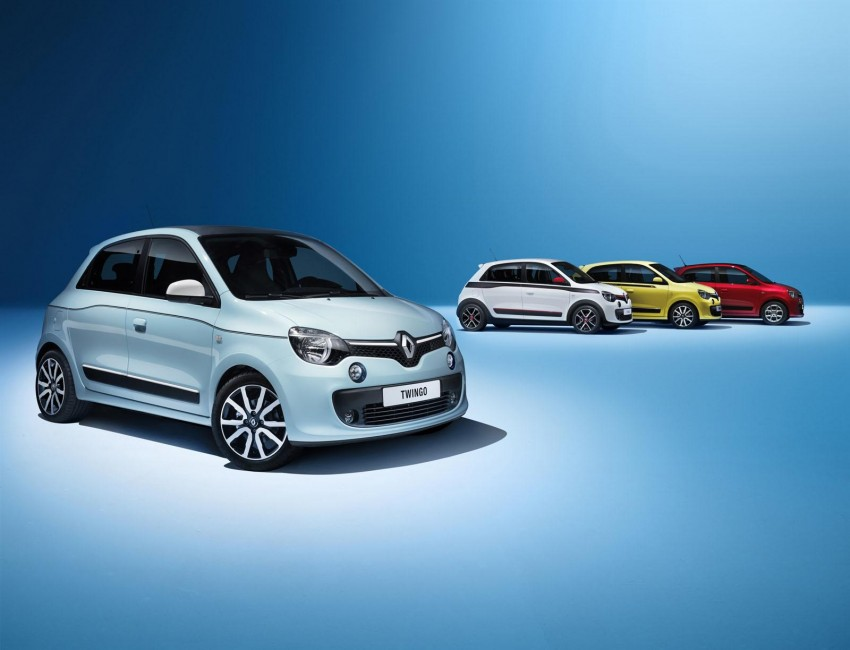New Renault Twingo – rear-engined city car revival Image #228476