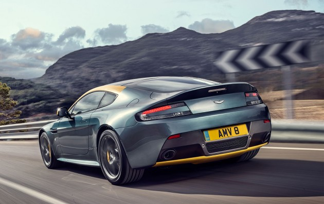 Aston Martin V8 Vantage N430 Inspired By The Track